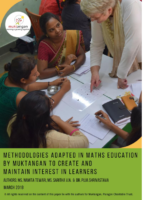 Methodologies Adapted in Maths Education by Muktangan to Create and Maintain Interest