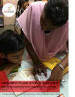 Connecting Literature to Reading in Muktangan